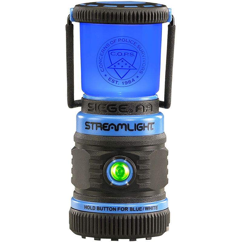 Streamlight Siege AA Lantern with Blue LED