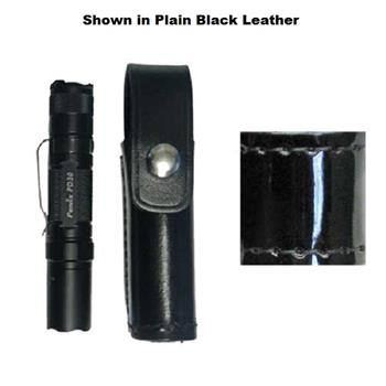 Fenix PD30 Cordovan Brown Stallion High Gloss Leather Flashlight Holder (Flashlight not included)