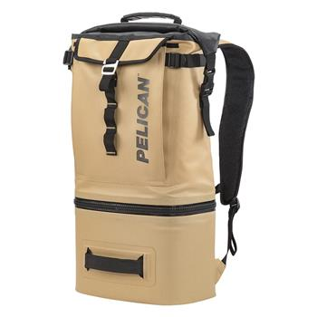 Tan Pelican™ Dayventure Backpack Cooler