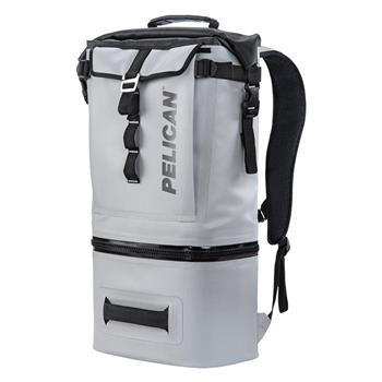 Light Grey Pelican™ Dayventure Backpack Cooler