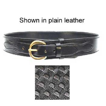 "River-Style 2 ¼"" Stallion Leather Sam Browne Belt"