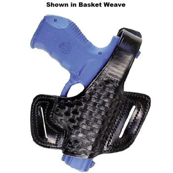 Semi-auto Thumb-Break Canted Stallion Leather Concealment Half-Holster