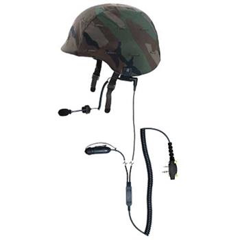 Squadcom Tactical Helmet Radio Headset with S6 Connector