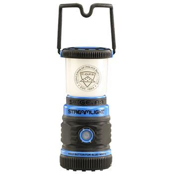 Streamlight Siege AA Lantern handle designed to lock in upright or stowed position