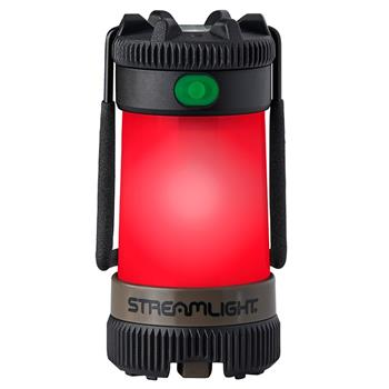 Streamlight Siege X USB Lantern three red LED's