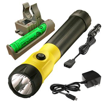 Yellow Streamlight PolyStinger LED Rechargeable Flashlight