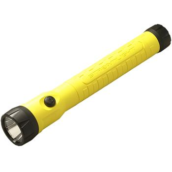 Yellow Streamlight PolyStinger LED HAZ-LO Rechargeable Flashlight