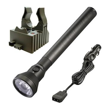 Streamlight UltraStinger LED Flashlight with DC charge cord and one base