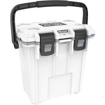 White Pelican™ 20 Qt Elite Cooler with gray trim